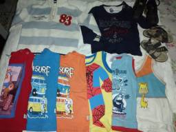 Kit 10 roupinhas para bebês Tamanho M