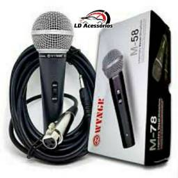 Microfone M-58 WVNGR  Cardióide Profissional