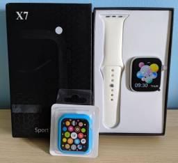 Smartwatch X7 com case de brinde. Retirar na Madalena