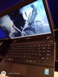 Notebook Samsung core i3 12x no cartão