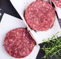 Carne de hambúrguer artesanal