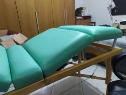 Maca de Massagem Tipo Mala Legno com regulagem de altura