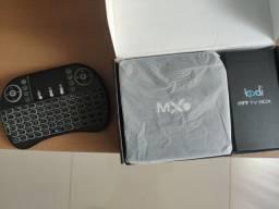 Tv box Kodi 4k transforma em smart tv