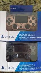 Controle para PS4 sem fio Sony Rose Gold e light black