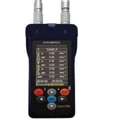Kit Medidor De Vibração 1 Canal Smartvib Chrompack Vci E Vmb