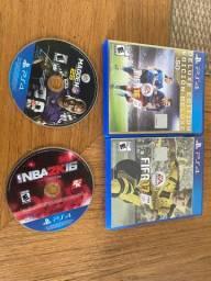 Jogos PS4 somente 15 reais