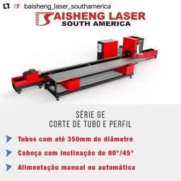 Tubos Máquina Laser para Corte de perfil e tubos