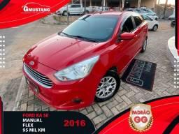 Título do anúncio: Ford ka SEDAN 2016 1.5 COMPLETAO ( Gmustang veiculos )