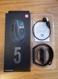 M5 Smartband Pulseira Inteligente Relógio Rastreador Fitness