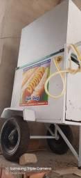 Carrinho de hot dog