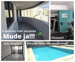 Apartamento com 3 Quartos 2 suites à venda, 140 m² por R$ 480.000 - Praia de Itapoã - Vila