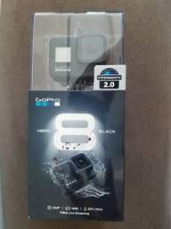 Câmera Gopro 8 Hero Black (nova e lacrada)