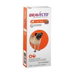Antipulgas e Carrapatos Bravecto MSD para Cães de 4,5 a 10 kg - Lacrado!