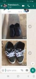 Sapato adunto de cadarço 20 e infantil 15 social