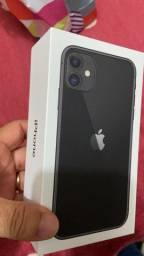 iPhone 11 64gb completo com nota 3 meses estado de novo