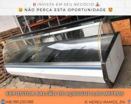 Expositor balcão de açougue 3,00 metros | Matheus