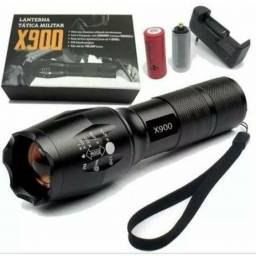 Lanterna Tática Militar X900 Alta Potência (ENTREGA GRÁTIS)