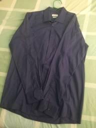 Vendo camisas sociais Azul Marinho Zara e listrada Tommy Hilfiger