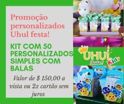 Promoção de itens personalizados