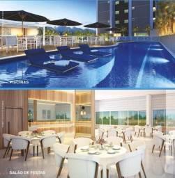 Torre Lumiar - Apartamentos com 78 ou 106m² 1 ou 2 vgs - Batista Campos - AP0019