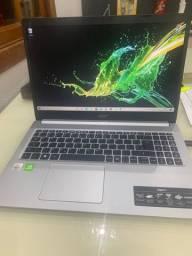 Notebook acer i5 10° Geração