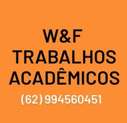 W&F Trabalhos Acadêmicos