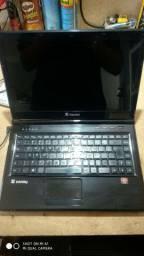 Notebook Itautec, 4GB, 500GB.
