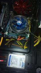 Kit Gamer Upgrade i5 3.8Ghz + 8G Memória Ram + Placa Mãe + Brinde