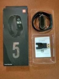 Pulseira Inteligente Esportiva M5 Fit Pro Smartwatch Medidor de Frequência Cardíaca
