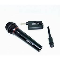 Microfone Profissional Lelong Sem Fio Le996w Show Igreja