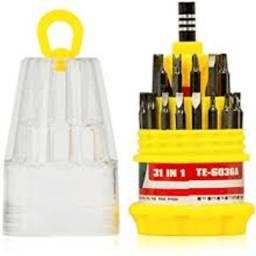 Kit Ferramentas Chaves 31/1 Torx Philips Celular Notebook Pc