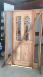 Portal com porta com grade- Linha Luxo- Pronta entrega- 12x sem juros