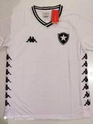 Camisa Botafogo Away Kappa 19/20 - Tamanho: M