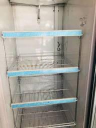 Freezer vertical metalfrio congelado