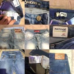 Bazar - Calças jeans Patoge/Bwana/Morena Rosa  40