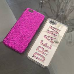 Capinhas iPhone 6/6s Victoria?s Secret Original e Brilho Dream