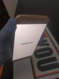 Celular Samsung A7 rosa ! Com nota fiscal