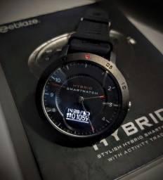 Relógio híbrido Zeblaze (smartwatch e mecanico)
