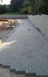 Calçamento e construção