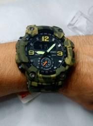 Relógio Esportivo Masculino Skmei militar Camuflado - Lançamento