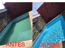 Manutenção e limpeza de piscinas e jardins