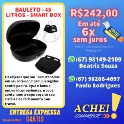 Bauleto 45 Litros _ Smart Box 2 _ Pro Tork Vermelho _ Novo _ NF