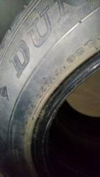 2 Pneus Dunlop 175/65 R14 Meia Vida