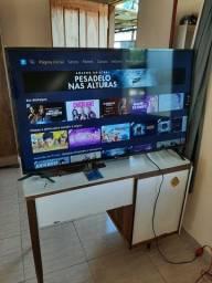 TV LG smart 50 polegadas, imagem 4k com nota