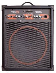 Caixa Amplificada 80w Trx12 Usb Fm Bluetooth LL Audio