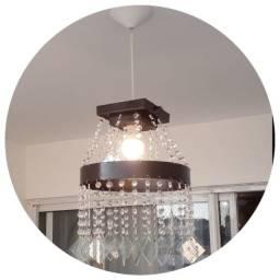 pendente lustre p/decoração de interiores