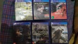 Troco por outros jogos de PS4