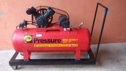 Compreensor Pressure 20 pés 200litros trifásico 220v
