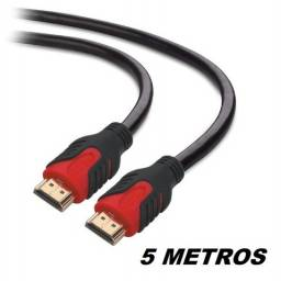 cabo hdmi 5 metros plus cable pc-hdmi50m 2.0 ponta gold 4k 3d   - ananindeua aurá