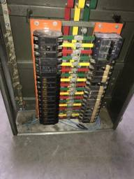 Painel elétrico distribuidor